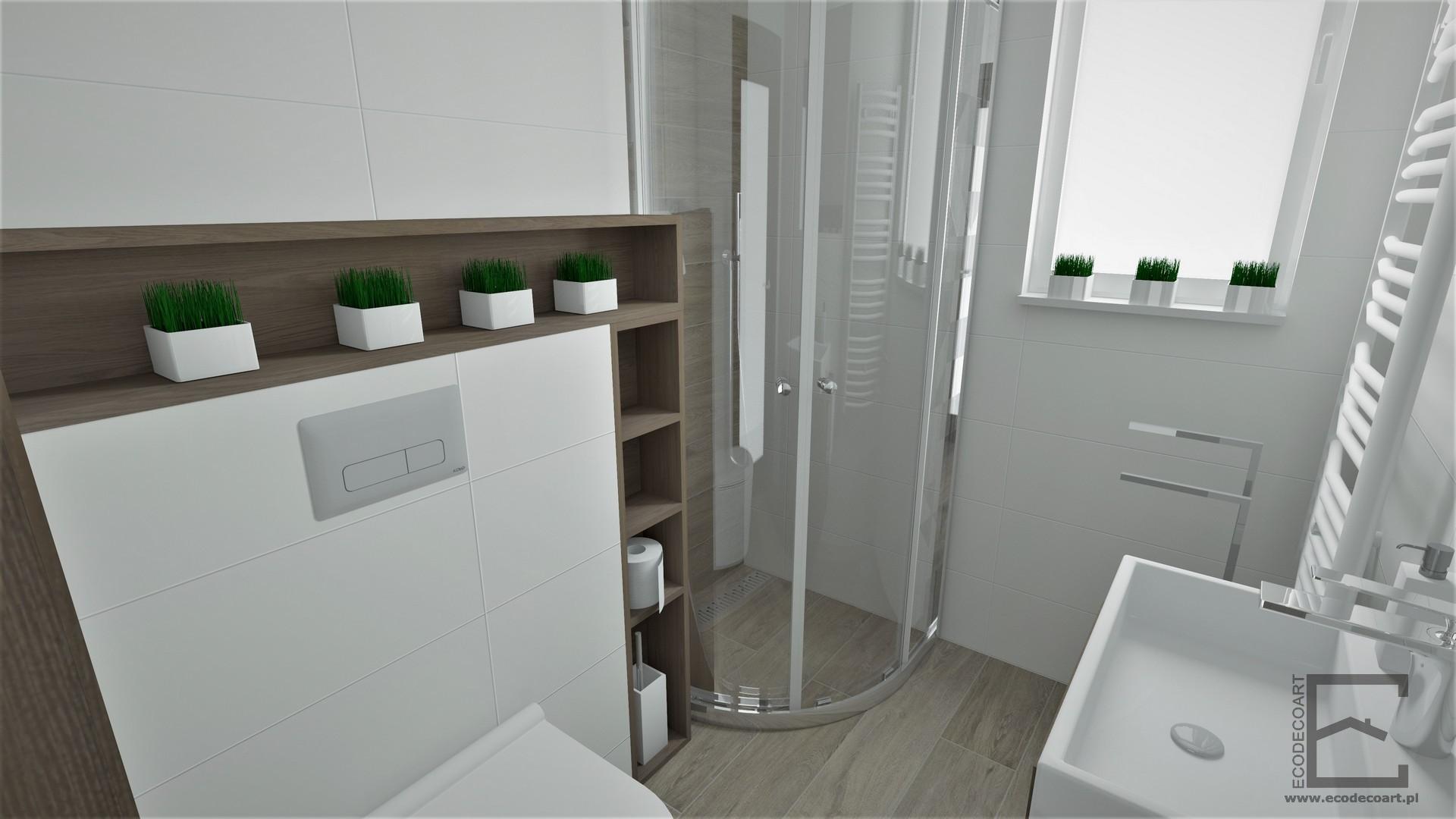 Łazienka w Leżajsku w dwóch wersjach