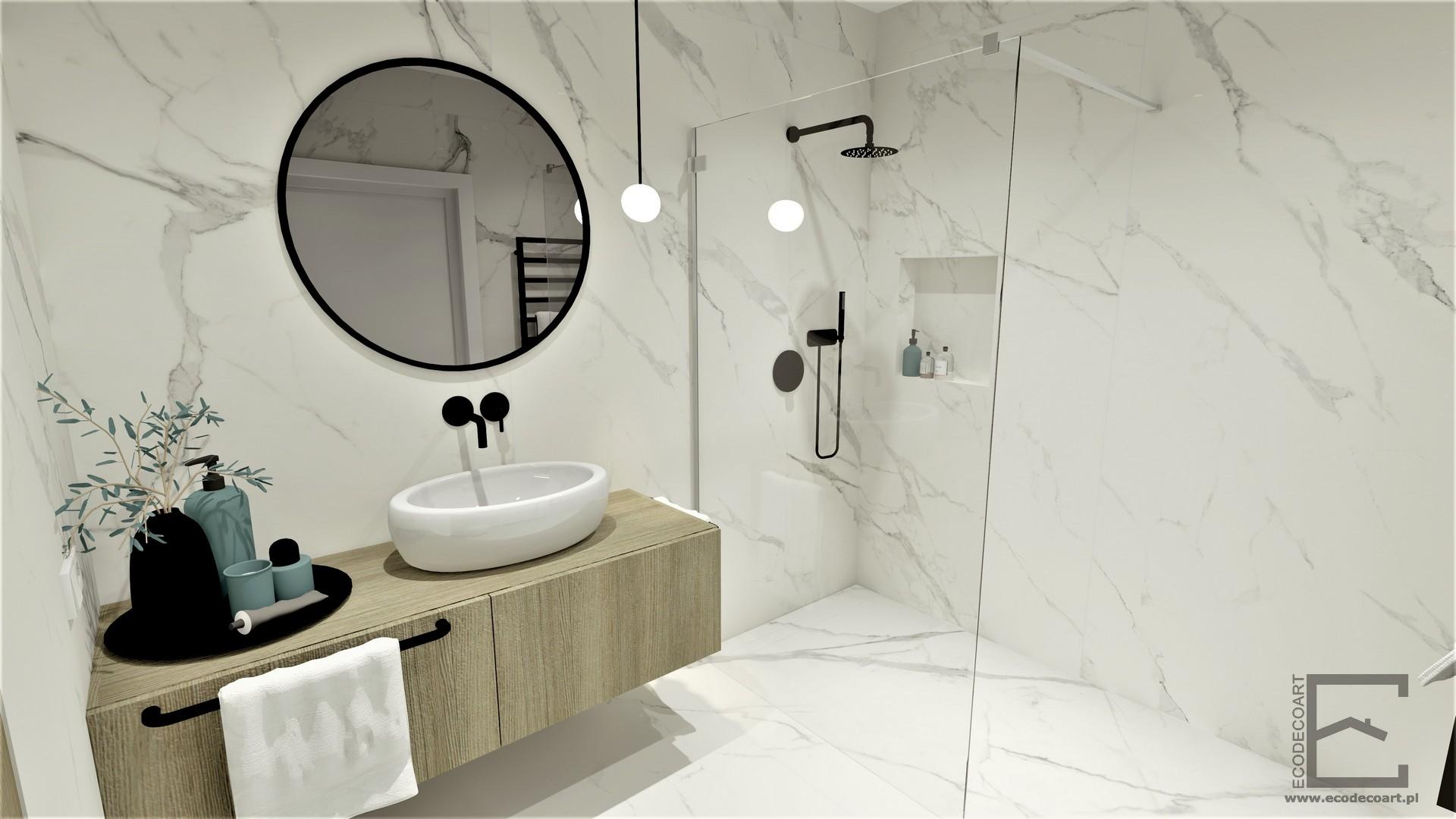 Marmurowa łazienka Lublin