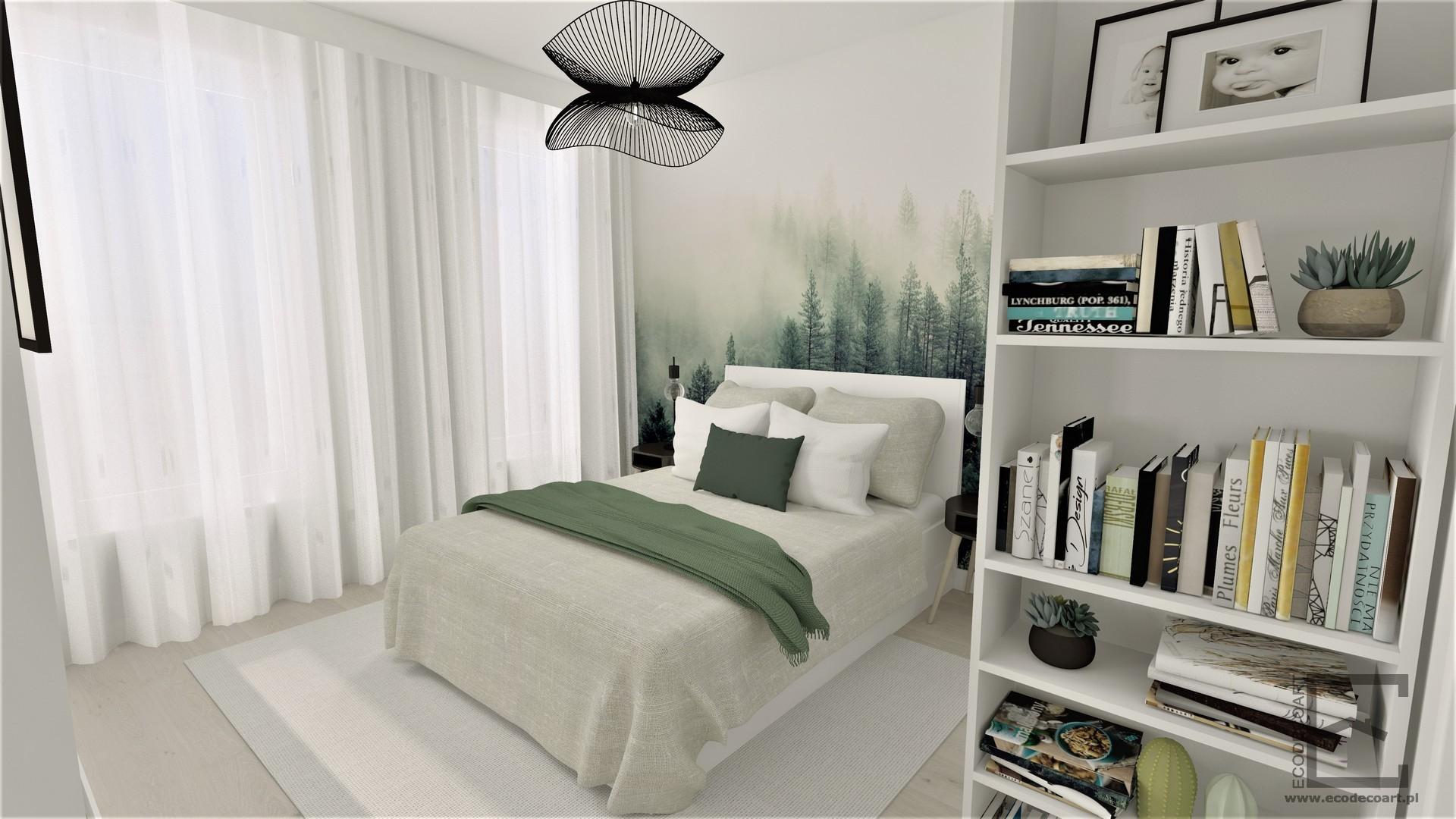 Mieszkanie w Lublinie – sypialnia
